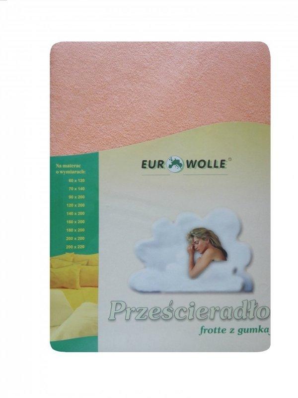 Miękkie_ przyjemne w dotyku_prześcieradło frotte z gumką Eurowolle_kolorowe prześcieradło polskiego producenta_ prześcieradło oddychające z dzianiny frotte_02