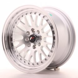 Japan Racing JR10 15x8 ET15 4x100/114 Machined Sil