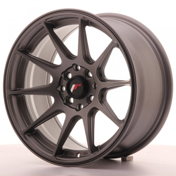 Japan Racing JR11 16x8 ET25 4x100/108 Matt Gun Met