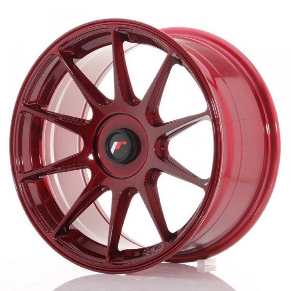 Japan Racing JR11 17x8,25 ET35 Blank Platinum Red