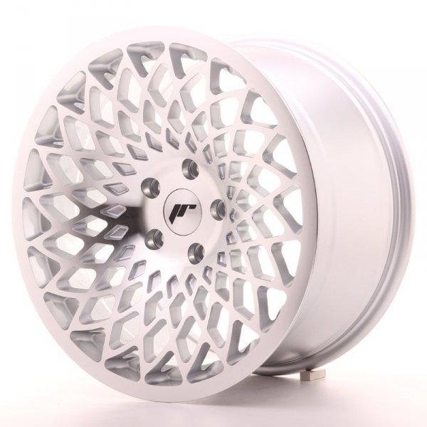 JR Wheels JR17 18x9,5 ET40 5x112 Silver Mach Face
