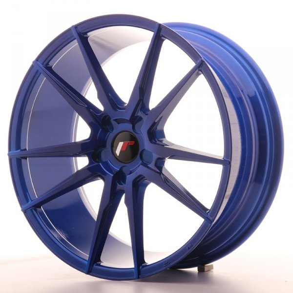 Japan Racing JR21 20x8,5 ET20-40 5H Blank Plat Blu