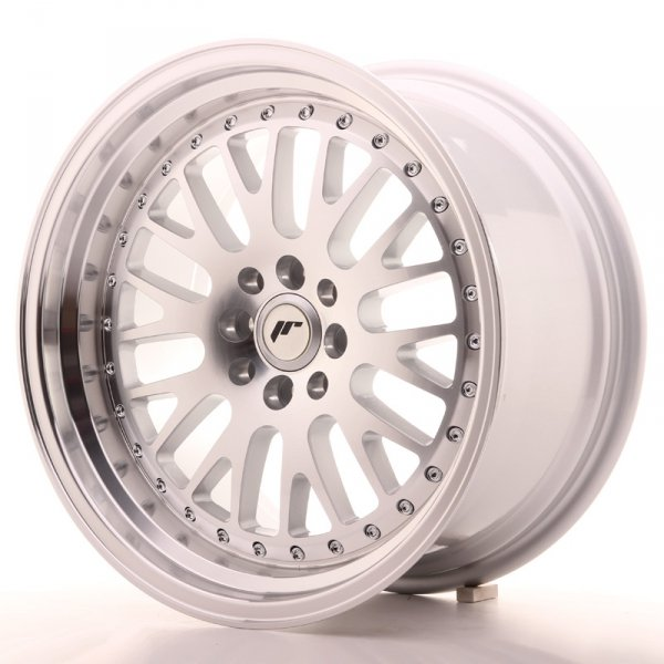 Japan Racing JR10 17x9 ET20 4x100/114 Machined Sil