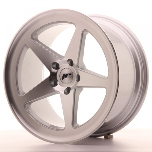 Japan Racing JR24 18x9,5 ET40 5x112 Machined Silve