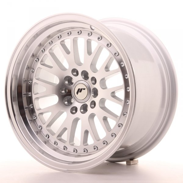 Japan Racing JR10 16x9 ET20 5x100/114 Machined Sil