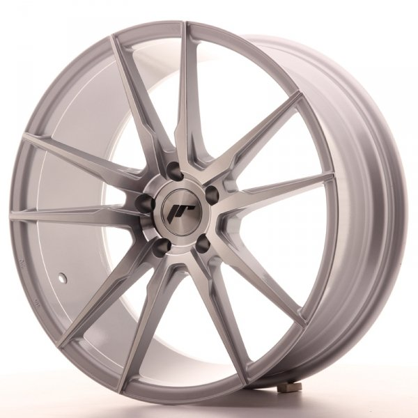 Japan Racing JR21 20x8,5 ET20 5x120 Silver Machine