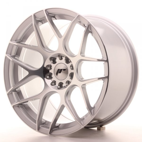 Japan Racing JR18 18x9,5 ET40 5x112/114 Silver Mac