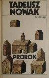 Tadeusz Nowak • Prorok [dedykacja autorska]