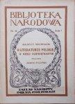 Maurycy Mochnacki • O literaturze polskiej w wieku dziewiętnastym