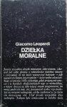 Giacomo Leopardi • Dzieła moralne
