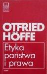 Otfried Hoffe • Etyka państwa i prawa
