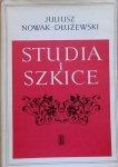 Juliusz Nowak-Dłużewski • Studia i szkice [Niemcewicz, Krasicki, Dygasiński]