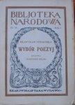 Władysław Syrokomla • Wybór poezyj