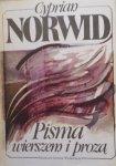 Cyprian Norwid • Pisma wierszem i prozą