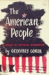 Geoffrey Gorer • The American People: A Study In National Character