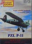 Polski samolot myśliwski z września 1939 roku • PZL P-11 [model kartonowy]