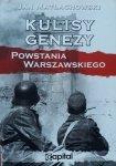 Jan Matłachowski • Kulisy genezy Powstania Warszawskiego