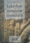 Maciej Krassowski • Leksykon terminów literackich