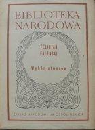 Felicjan Faleński • Wybór utworów