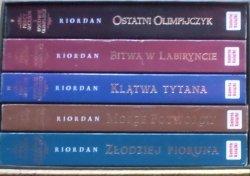 Riordan Rick • Percy Jackson i bogowie olimpijscy. 5 tomów