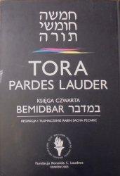 Tora Pardes Lauder • Księga czwarta. Bemidbar