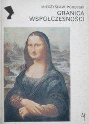 Mieczysław Porębski • Granica współczesności 1909-1925