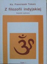 ks. Franciszek Tokarz • Z filozofii indyjskiej. Kwestie wybrane