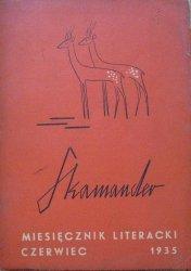 Skamander • Miesięcznik literacki czerwiec 1935