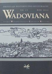 Wadoviana nr 15/2012 [Wadowice]