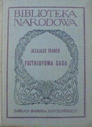 Jezajasz Tegner • Frithiofowa saga