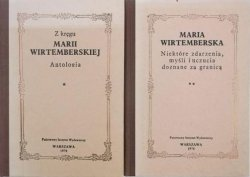 Maria Wirtemberska • Z kręgu Marii Wirtemberskiej. Antologia. Maria Wirtemberska. Niektóre zdarzenia, myśli i uczucia doznane za granicą