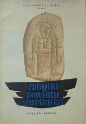Zabytki powiatu słupskiego • Biblioteka Słupska tom 8