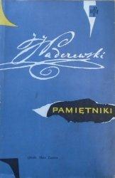 Ignacy Jan Paderewski • Pamiętniki [Adam Młodzianowski]
