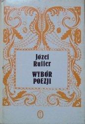 Józef Ruffer • Wybór poezji [Biblioteka Poezji Młodej Polski]