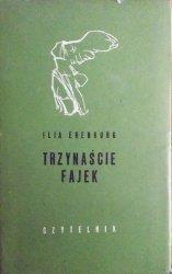 Ilja Erenburg • Trzynaście fajek