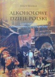 Jerzy Besala • Alkoholowe dzieje Polski. Czasy Piastów i Rzeczypospolitej szlacheckiej