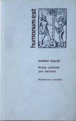 Gunnar Ekelof • Każdy człowiek jest światem