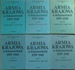 Armia Krajowa w dokumentach 1939-1945 [komplet]