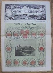 Nowości Illustrowane Numer Nadzwyczajny 17 kwietnia 1910 • Wielki Kraków