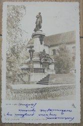 Warszawa. Pomnik Mickiewicza [1937]