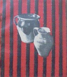 Katalog pokonkursowy wystawy garncarstwa, tkactwa świętokrzyskiego, zabawek ludowych oraz kowalstwa artystycznego