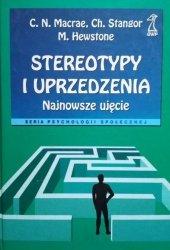 Charles Stangor, Miles Hewstone, C. N. Macrae • Stereotypy i uprzedzenia