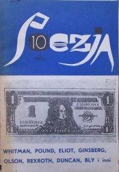 Poezja numer 10/1985 •  Whitman, Ginsberg, Eliot, Pound, Olson, Rexroth, Bly