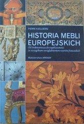 Pierre Kjellberg • Historia mebli europejskich. Od średniowiecza do współczesności ze szczególnym uwzględnieniem wzorów francuskich