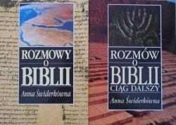 Anna Świderkówna • Rozmowy o Biblii. Rozmów o Biblii ciąg dalszy