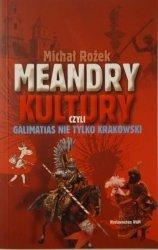 Michał Rożek • Meandry kultury, czyli galimatias nie tylko krakowski