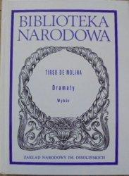 Tirso de Molina • Dramaty. Wybór