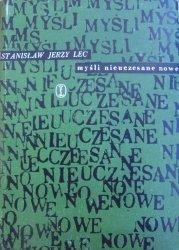 Stanisław Lec • Myśli nieuczesane nowe [Zofia Darowska]