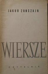 Jakub Zonszajn • Wiersze