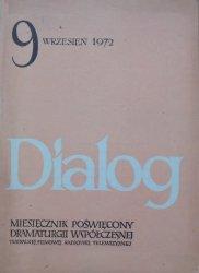 Dialog 9/1975 • [Tadeusz Kantor, happening, Dimitr Dimow, Taufik al-Hakim]